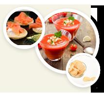 Romige soep
