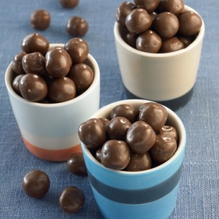 Chocolate soy balls