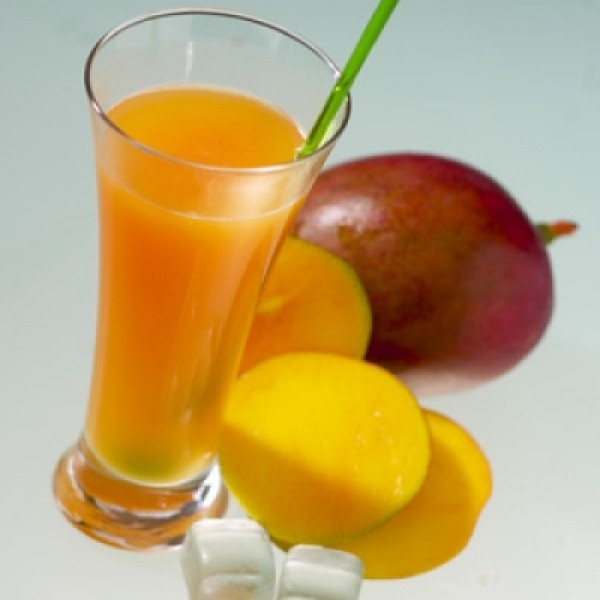 Peach and mango flavour drink