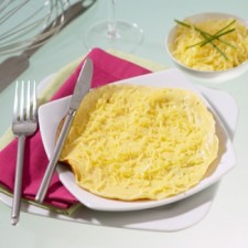 Cheese flavour omelette