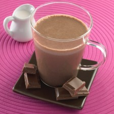 Chocolate and Caramel Booster drink